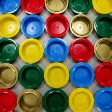 Цветные крышки для стаканов Pacojet